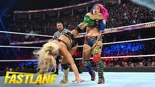 Asuka brutally pummels Mandy Rose: WWE Fastlane 2019 (WWE Network Exclusive)