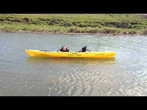 Ocean kayak trident 13 camo doovi for Fissot fishing kayak