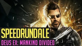 Deus Ex: Mankind Divided Any% Speedrun von Heinki - 01:02:40 | Speedrundale