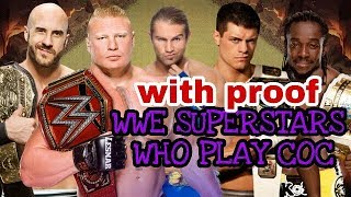 (HINDI)You wont believe|5 superfit wwe superstars who actually play clash of clans