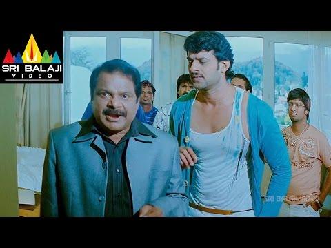Darling Movie Kajal Agarwal Hurted Scene   Prabhas, Kajal   Sri Balaji Video