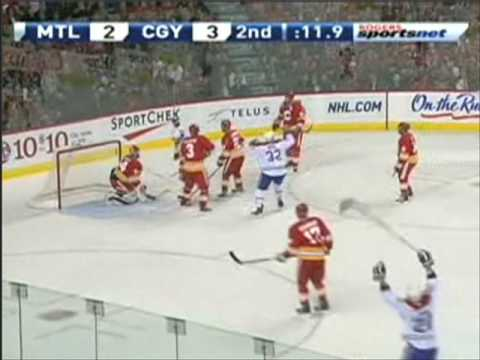 Tomas Plekanec Scores a Great Backhand Goal