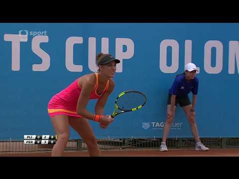 Pliskova Kristyna v Pera Bernarda - 2017 ITF Olomouc