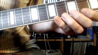 Jigsaw Puzzle Blues - guitar lesson - slow fingering