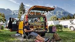 Der erste Trip mit unserem VAN | Eibsee & Alpen | #PROJECTVANLIFE