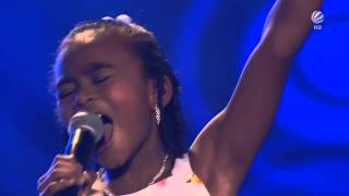 The Voice Kids Germany Chelsea Girl on fire