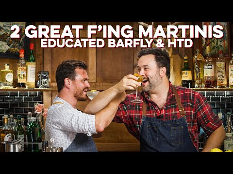 Martini vs. Martini with Educated Barfly | How to Drink