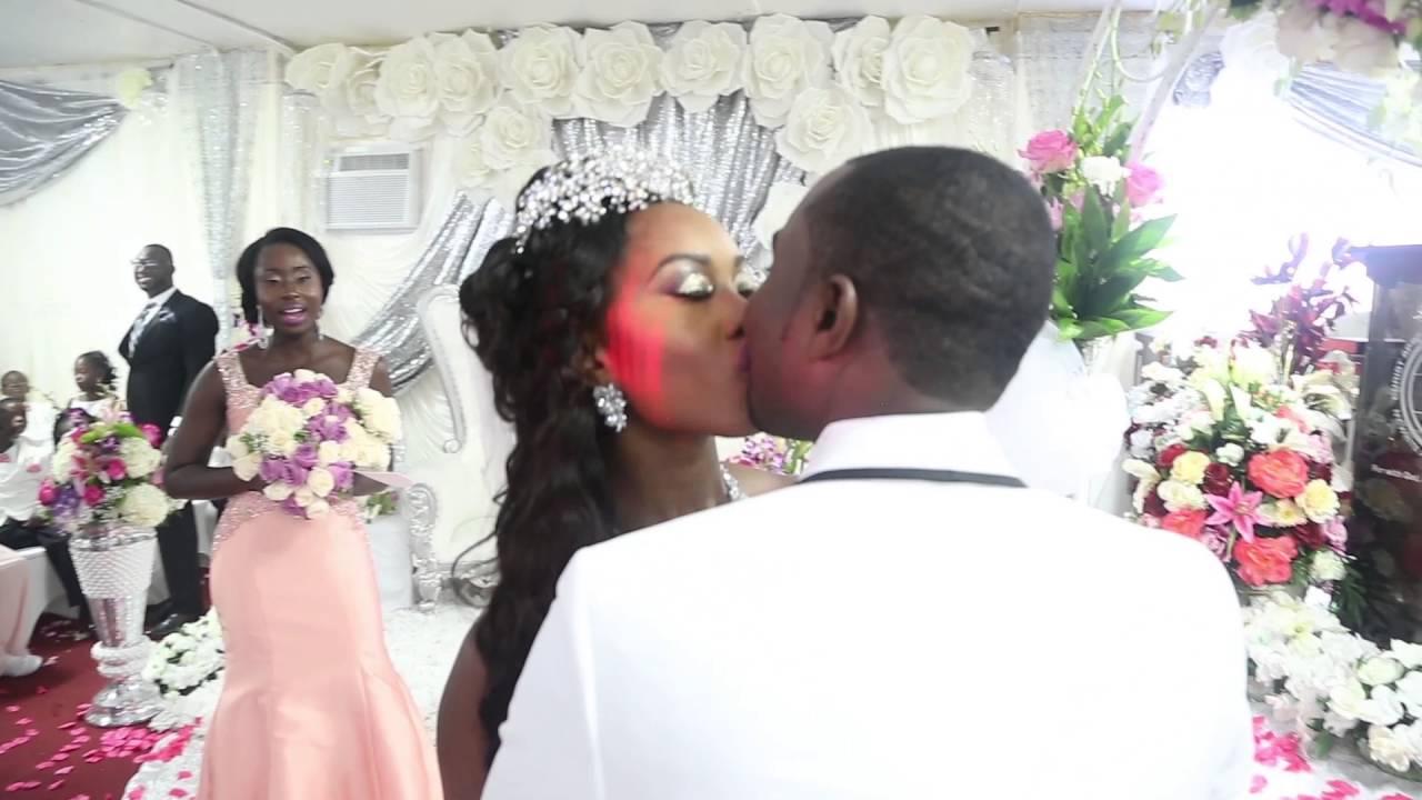 you may kiss the bride (kwame + rachel) - youtube