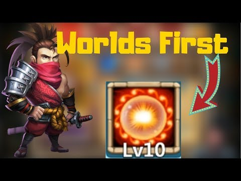 Scorch 10/10 | The Worlds First | Castle Clash