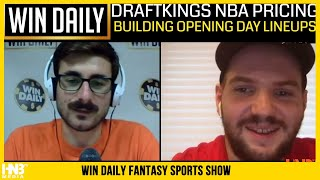 Win Daily Fantasy Basketball: NBA DraftKings Pricing is Out 7.23.20 (FULL)