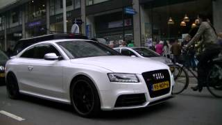 (HD) Audi RS5 w/ Akrapovic exhaust! - LOUD REVS, Accelerations, Start up & MORE!!