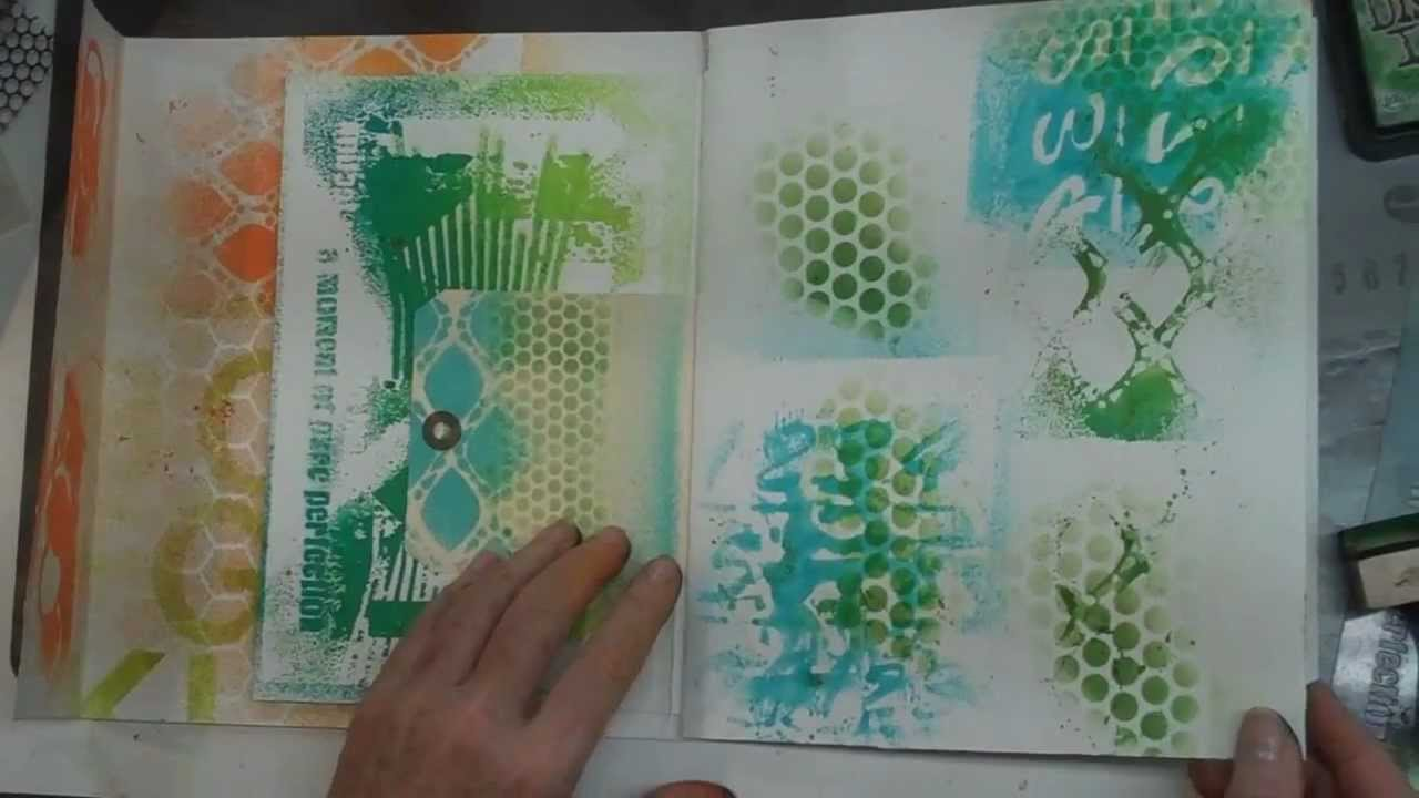 Spray Paints Amp Stencils Technique Video Youtube