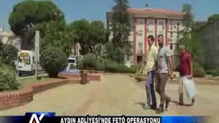 AYTV AYDIN-AYDIN ADLİYESİ'NDE FETÖ OPERASYONU...
