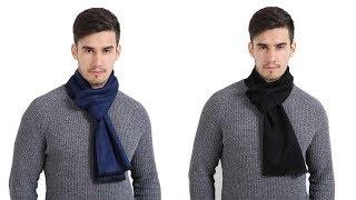 Обзор покупок с AliExpress - элегантный мужской шарф