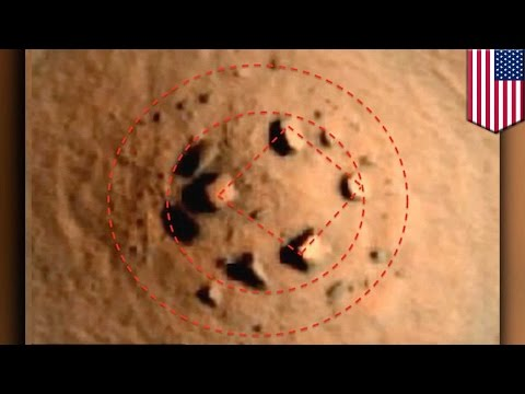 Alien rocks: 'Mars Henge' rock formation drawing comparison to Stonehenge - TomoNews