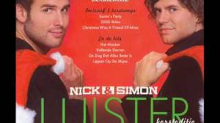 Nick & Simon - Luister Kersteditie - Nr. 18 - Christmas Was A Friend Of Mine