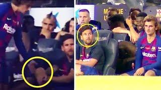 ПОЧЕМУ МЕССИ НЕ ПОЖАЛ РУКУ ГРИЗМАННУ? В Барселоне серьезный конфликт?