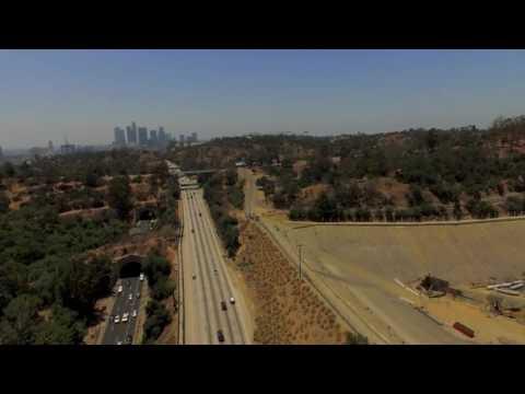 dji Phantom 3 - Elysian Park Los Angeles