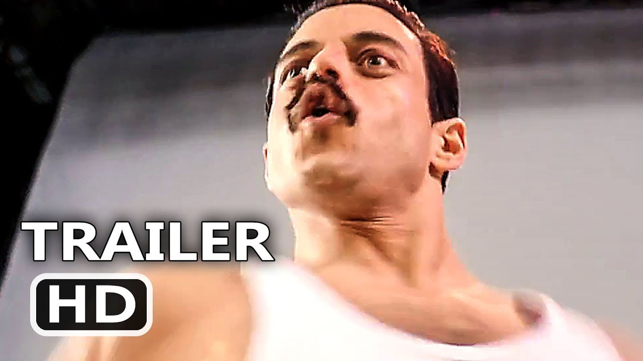 BOHEMIAN RHAPSODY Official Trailer (2018) Rami Malek, Freddie Mercury, Queen Movie HD