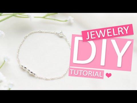 DIY Tutorial - 925 Silber Armband mit Jasseron - Machen Sie Ihren eigenen Schmuck