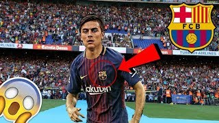 CONFIRMED : DYBALA WILL JOIN BARCELONA TO REPLACE NEYMAR JR!!?