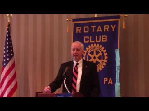Craig Trebilcock,Promoting Rule of Law in Afghanistan,Rotary Club of York,PA,Meeting 2/8/2017