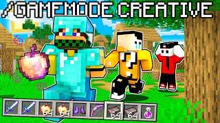 SPEEDRUN IN CREATIVA vs 2 CACCIATORI - Minecraft ITA