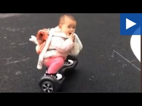 Dan Rivers - Baby On A Hoverboard!!