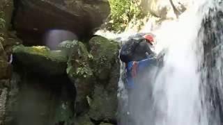 脊振山系・金山沢F2登る奇跡の71歳