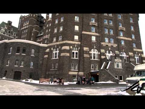 Banff Alberta Canada in Winter -  YouTube