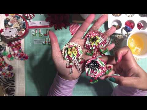 #2 Christmas Series 2017 🎅🏼 DIY ELF Shoes & Skirt Embellishments using cupcake liners