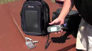What can you charge with an Eclipse Solar Backpack?