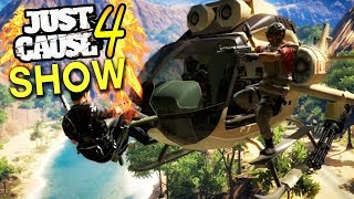 JUST CAUSE 4 - SPECIAL MASK, NEW VERSION OF MILE HIGH CLUB? AND MORE! (Just Cause 4 Show EP 10)