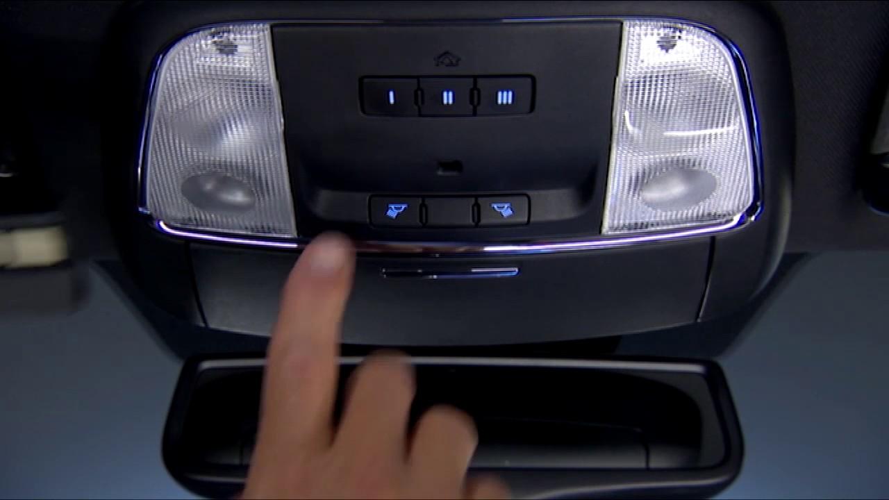 Chrysler 300c garage door opener