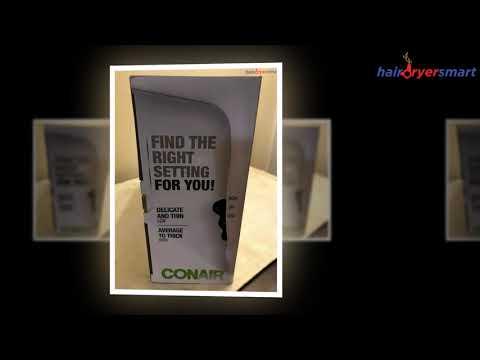 Conair 1875 Watt Ionic Ceramic Hair Dryer Review