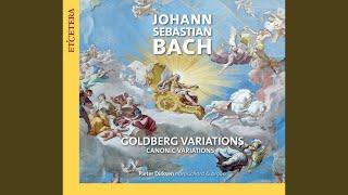 Clavier Ubung bestehend in einer Aria, BWV 988 (1741) : VII. Variatio 6. Canone alla Seconda a...