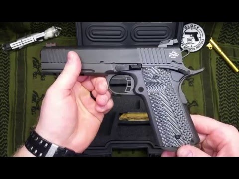 Rock Island 1911 45acp VZ Grips Review (2011 model)