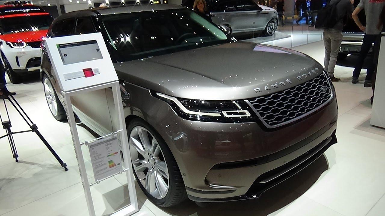2018 range rover velar p380 se exterior and interior geneva motor show 2017 youtube. Black Bedroom Furniture Sets. Home Design Ideas