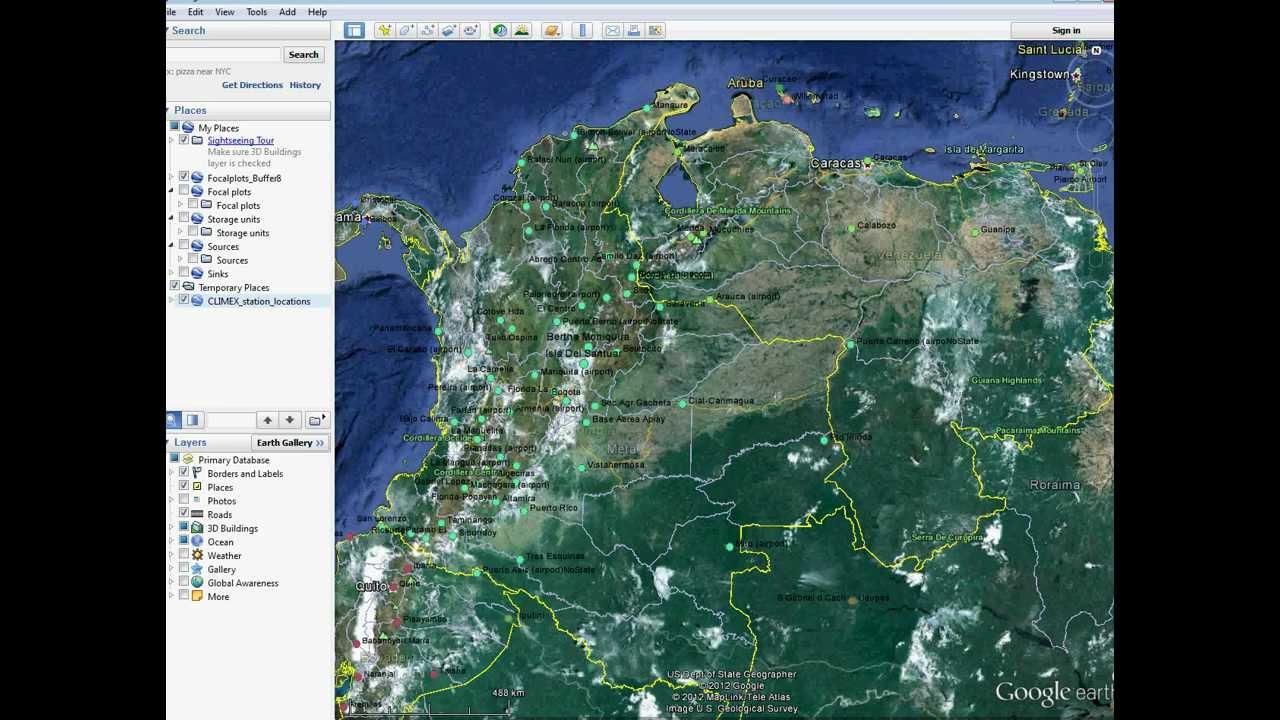 Visualizando KMLKMZ En Google Maps Via Dropboxavi YouTube - Google maps us states kml