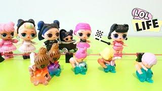 LOL Surprise! LOL Life! LOL Stop Motion Miniseries! Fierce & the Magic of the Rare Boo-Boocorn Twins