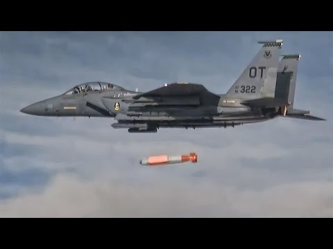 B61-12 Guided Standoff Nuclear Bomb • Test Drop