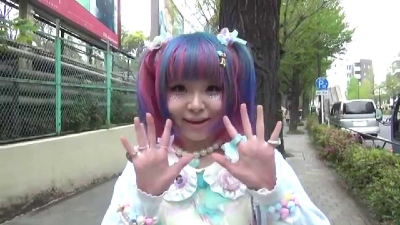 キュートでかわいい派手髪あまあまロリィタ - youtube