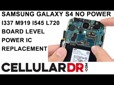 Samsung Galaxy S4 I337 M919 I545 L720 No Power Fixed - Dead Won't Turn on Qualcomm PM8917 Repair
