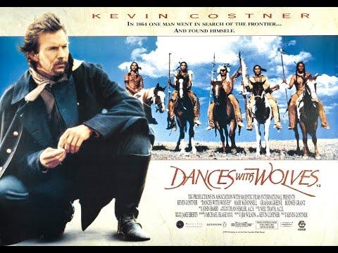 Kevin Costner Films  Dances with Wolves DC 1990