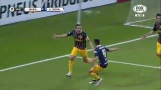 Con gol de Ruben, Central se impuso en Brasil y define la llave de local