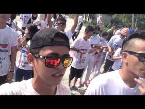 Kuala tungkal color run 2016