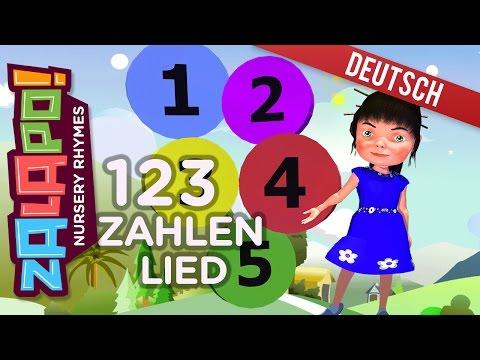 Zahlen Lied für Kinder 123   Kinderlieder   Schlaflieder für Babys und Kinder by Zalapo Kids