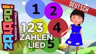 Zahlen Lied für Kinder 123 | Kinderlieder | Schlaflieder für Babys und Kinder by Zalapo Kids