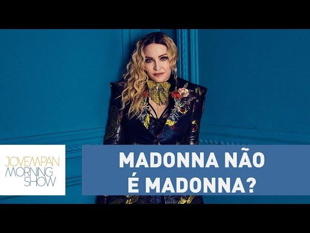 O dia em que Madonna teve que provar que é ela mesma! | Morning Show
