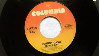 Mobile Bay , Johnny Cash , 1981 45RPM
